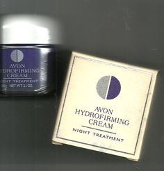 Avon Hydrofirming Cream Night Treatment - 2.1 oz.  NOS