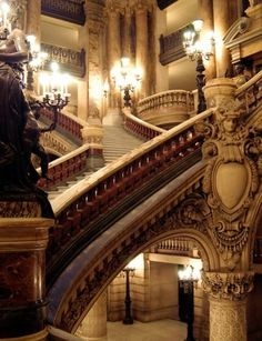 Opulent Staircase