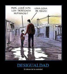 Derechos Humanos... Desigualdad #Anonymous #Iberoamerica