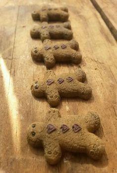 *SET OF 5 *PRIMITIVE GINGERBREAD GingerBread ornies Primitive Ornies BOWL FILLER #NaivePrimitive #unknown