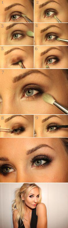 10 Most Stunning Smokey Eye Makeup Tutorials