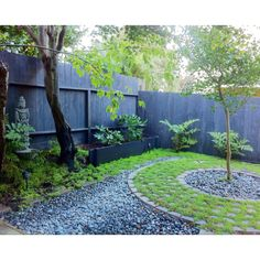 Our zen garden in San Francisco, photo by Masato Inoue