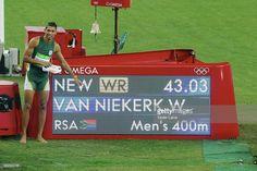 Rio 2016 Atletica: Wayde van Niekerk nuovo record del mondo nei 400 metri…