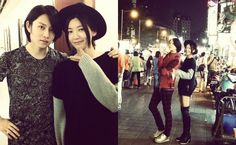 """Super Junior's Heechul Reunites with Former """"We Got Married"""" Wife Puff Kuo   Soompi"""