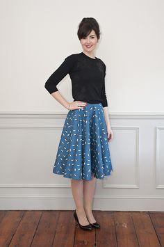 Sew Over It's brand new Full Circle Skirt pattern - https://sewoverit.co.uk/product/full-circle-skirt-sewing-pattern/