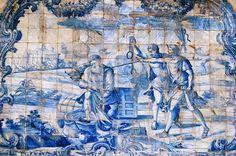 Nihil auri cupidum refranat  http://sergiozeiger.tumblr.com/post/99177831668/convento-de-sao-francisco-salvador-o-convento  Para expressar o Theatro Moral no Claustro do Convento de São Francisco foram encomendados em Portugal, em meados do século XVIII, azulejos especiais e selecionados 37 dos 103 Emblemas de Horácio.