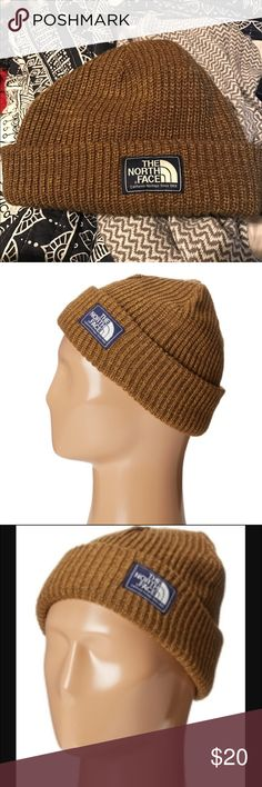The North Face Salty Dog Beanie - Brown, Unisex This beanie is pretty much new without tags. I've only worn it out once. This beanie is jersey lined so it's super warm. Definitely recommend if you live or are visiting somewhere that's cold. The North Face Accessories Hats