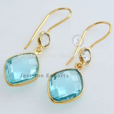 Stylish Vermeil Gold Blue Topaz Gemstone Earrings Wholesale 925 Sterling Silver Gemstone Earrings , Find Complete Details about Stylish Vermeil Gold Blue Topaz Gemstone Earrings Wholesale 925 Sterling Silver Gemstone Earrings,Gemstone Earrings,Vermeil Gold Gemstone Earrings,925 Sterling Silver Gemstone Earrings from Gold Jewelry Supplier or Manufacturer-JASMINE EXPORTS  #sterlingsilverearrings #topazgemstoneearrings #wholesalesilverjewelry #silverearringsjewelry #beautifulsilverearrings