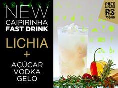 Arte Cardápio Fast Drink | DLX www.dlxservice.com.br