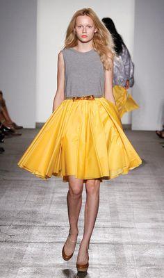 Grey & Yellow @karenwalker