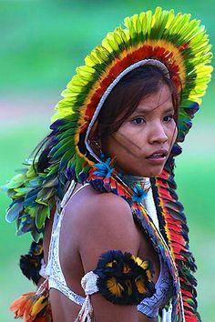 Brazil - Rikbakisa woman.