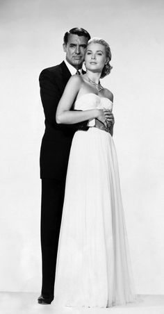 Grace Kelly & Cary Grant in To Catch a Thief