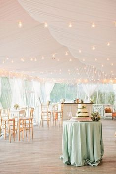 blush and mint wedding tent decor ideas / http://www.deerpearlflowers.com/wedding-tent-decoration-ideas/2/