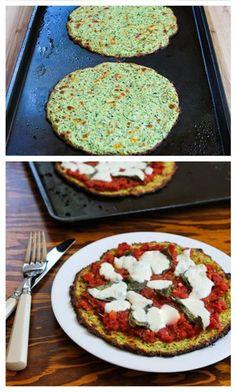 Yum Alert: Zucchini Crust Pizza recipe