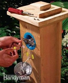 Underground wiring puts light and power anywhere in the yard. We'll show you how to do it easily and safely.