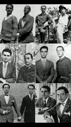 Salvador Dalí y Federico García Lorca