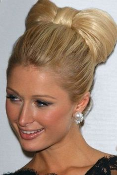 Paris Hilton's Numerous Hairstyles