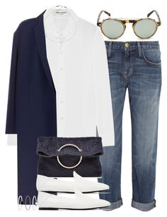 Sin título #4299 by hellomissapple on Polyvore featuring polyvore, fashion, style, Yves Saint Laurent, Victoria Beckham, Current/Elliott, Jil Sander, Accessorize, Jack Vartanian, Westward Leaning and clothing