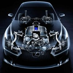 The new #Lexus RC F tears it up on the freeway or speedway thanks to its 5.0 liter 32-valve V8 engine!