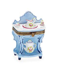Rochard Limoges Wash Basin Box