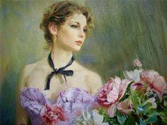 Glamorous Paintings by Konstantin Razumov | Cuded