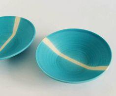 Heath Ceramics designed by Julia Paul @Design*Sponge #cerulean #aqua #turquoise