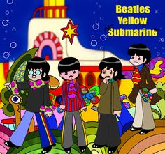 Yellow Sub/ Beatles / dress them