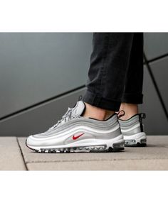 promo code 45cba 41689 Authentic Nike Air Max 97 OG QS Silver Bullet Trainers Sale UK Nike Air Max  For