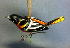 The Beauty of Birds - Baltimore Oriole - 7th in the Series - Hallmark - 2011