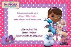 Convite digital personalizado Doutora Brinquedos 005