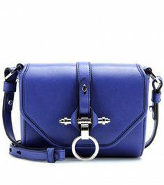 c08ab5e254 Givenchy - Obsedia leather shoulder bag - mytheresa.com GmbH Mode Bleu,  Créateur De