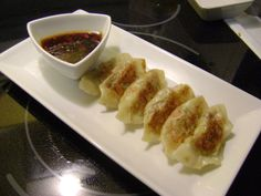 Vegetable and Tofu Potstickers with a Spicy Ginger-Soy Dipping Sauce | Vegan Eats