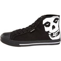 3d295c1855a3 Draven Shoes Men s Misfits Face Off Hi-Top Sneaker ( 49) found on Polyvore