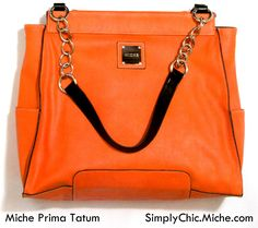 spring 2013 Miche Prima Tatum tangerine