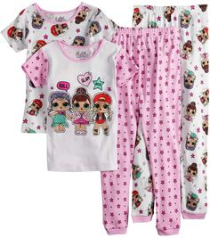 Filles officiel LOL surprise Pyjama Party Club Sleepy OS pyjama 4 To 10 ans