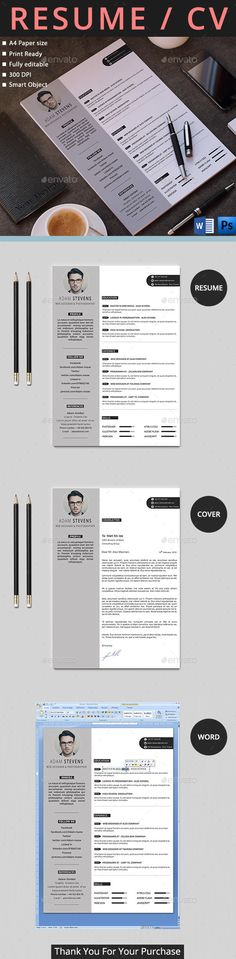 """Resume """"Resume"""" is the super clean, modern and professional resume cv template to help you land that great job. The flexible page designs are easy to use and customise, so you can quickly tailor-make your resume for any opportunity."""