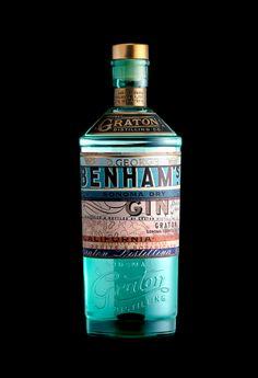 Benham's Gin — The Dieline - Branding & Packaging