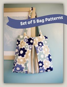 Check out this item in my Etsy shop https://www.etsy.com/uk/listing/268034277/set-of-5-bag-sewing-patterns-by