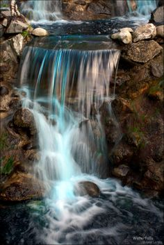 ✯ Waterfall .::. Unknown Photograph ✯