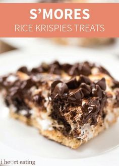 S'mores Rice Krispies Treats® combine your favorite chocolate and cream cookies with the campfire dessert everyone loves.The kids will love to make and eat this easy recipe.