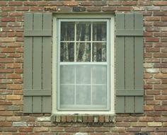 Exterior Shutters | Custom Aluminum Exterior Window Shutters