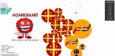 Best #agario private server agariom.net come and play crazy #agar game #slitherio