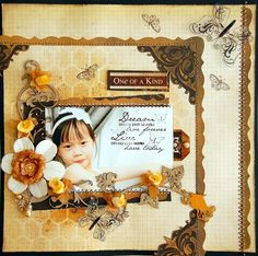 "by Irene Tan aka Scrapperlicious with Swirlydoos June Kit, ""Antiquities"", Dusty Attic chippies &  Vilda Stamps"