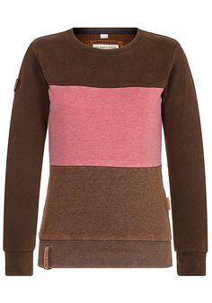 b18abc584eefcc NAKETANO Eine Mit Glied - Sweatshirt für Damen - Braun - Planet Sports