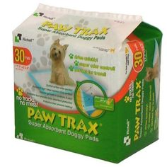 Paw Trax Pet Training Pads 30 Count 2 Pack -- You can get additional details at the image link.(This is an Amazon affiliate link)