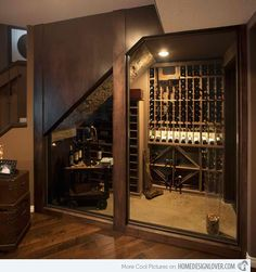15 Space Savvy Under Stairs Wine Cellar Ideas | Home Design Lover