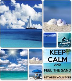 .⚓...♒☼ ᒪᓰƑᙓᔕ ᗩ ᙖᙓᗩᙅᖺ❗ ☼♒...⚓. ~ moodboard sun sea beach by AT