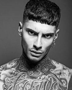 Portrait of @saviodechiara  Hair @kevinluchmun  Photography @kevinluchmun  #barber #barbering #batberlife #hair #hairdresser #hairdressing #fade #fashion #tattoo #fringe #fts #sftb