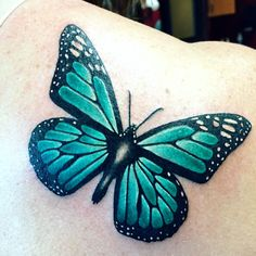 169 Meaningful Blue butterfly tattoo pictures