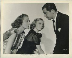 """oan Crawford, Margaret Sullavan, and Robert Young in a publicity photo for """"The Shining Hour"""" (1938)      https://www.facebook.com/580884055304548/photos/a.580903481969272.1073741828.580884055304548/693522964040656/?type=1"""